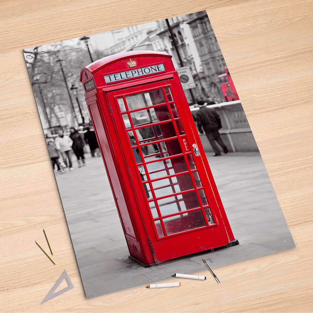 Folienbogen (100x150cm) - Phone Box - CR106236