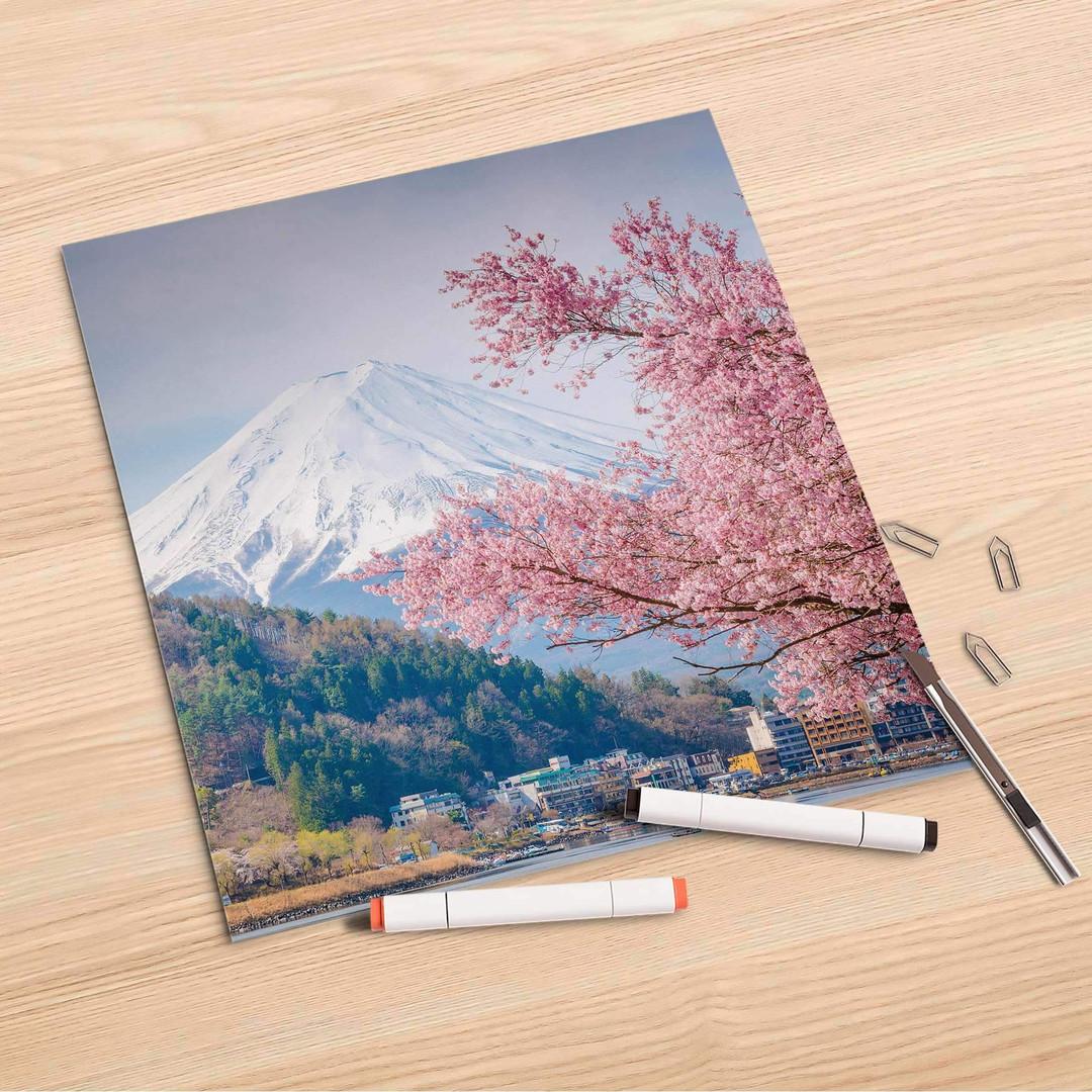 Folienbogen (30x30cm) - Mount Fuji - CR106882