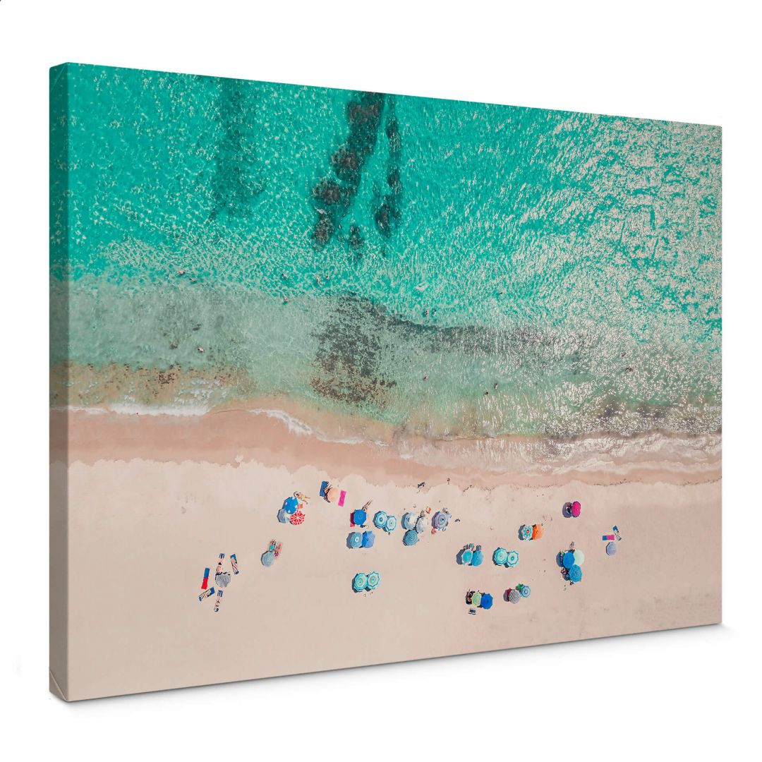 Leinwandbild Sisi & Seb - Am Strand - WA254726