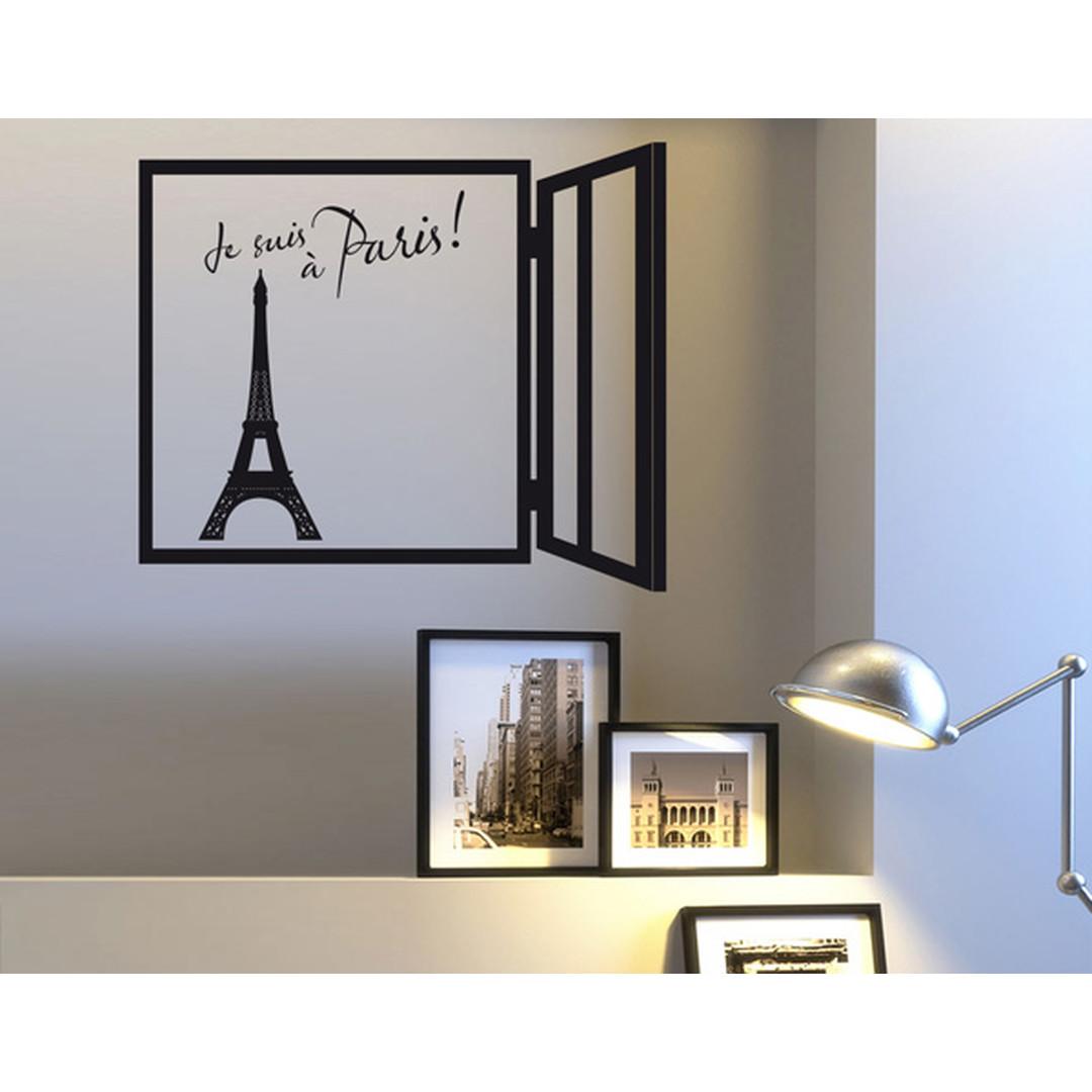 Wandtattoo Je suis à Paris! - TD16316