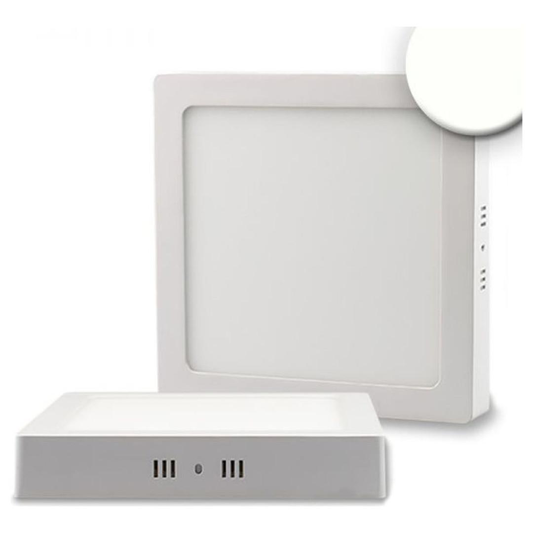 LED Deckenleuchte weiss, 18W, quadratisch, 220x220mm, neutralweiss - CL120412