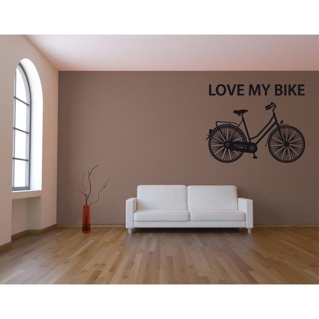 Wandtattoo I love my bike - TD16185