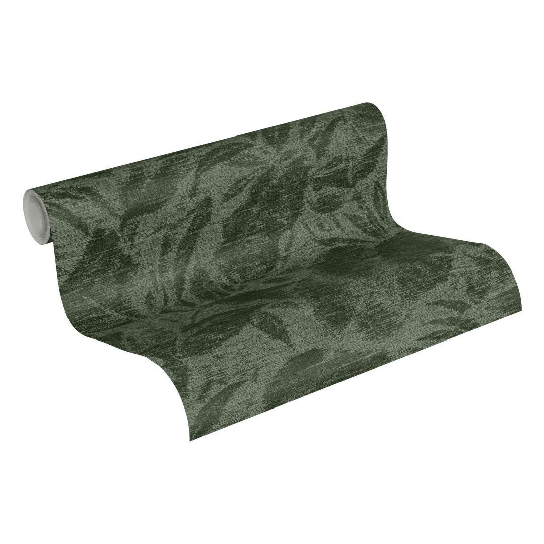 A.S. Création Vliestapete Greenery Tapete mit Blätter Motiv grün, schwarz - WA268052