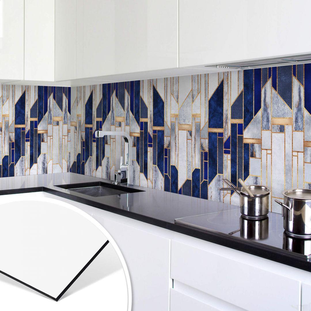 Küchenrückwand Fredriksson - Blauer Winterhimmel - WA253714