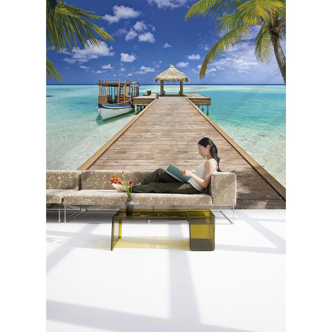 Sonderanfertigung Exklusive Vliestapete Beach Resort - KO8-921-ONE