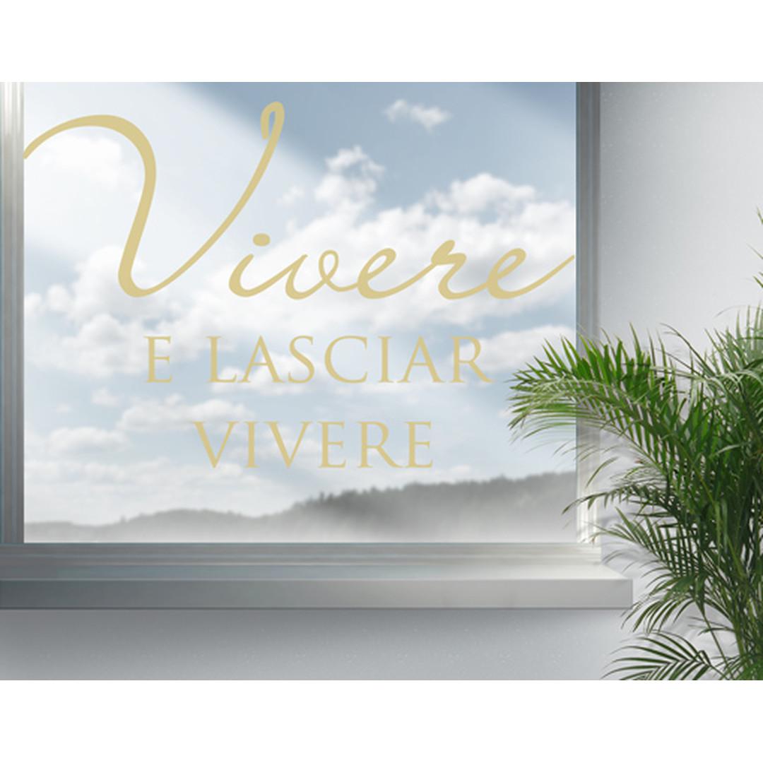 Glasdekor Vivere - CG10441