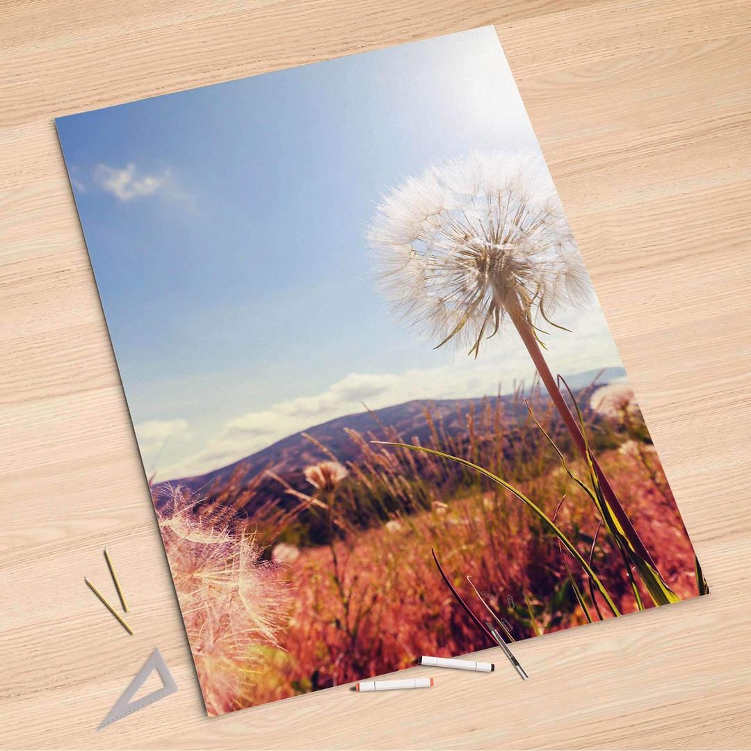 Folienbogen (100x150cm) - Dandelion - CR106144