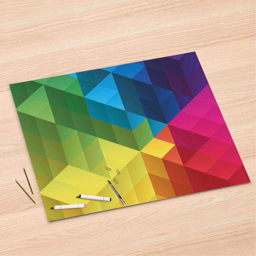 Folienbogen (120x80cm) - Colored Cubes - CR106354