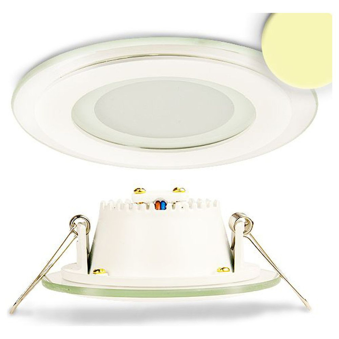 LED Downlight, 8W, Glas, seitlich abstrahlend, warmweiss - CL119856