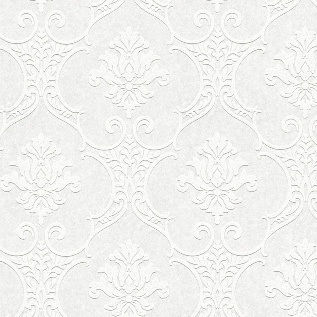 A.S. Création überstreichbare Vliestapete Meistervlies 2020 Tapete weiss, überstreichbar - WA268644