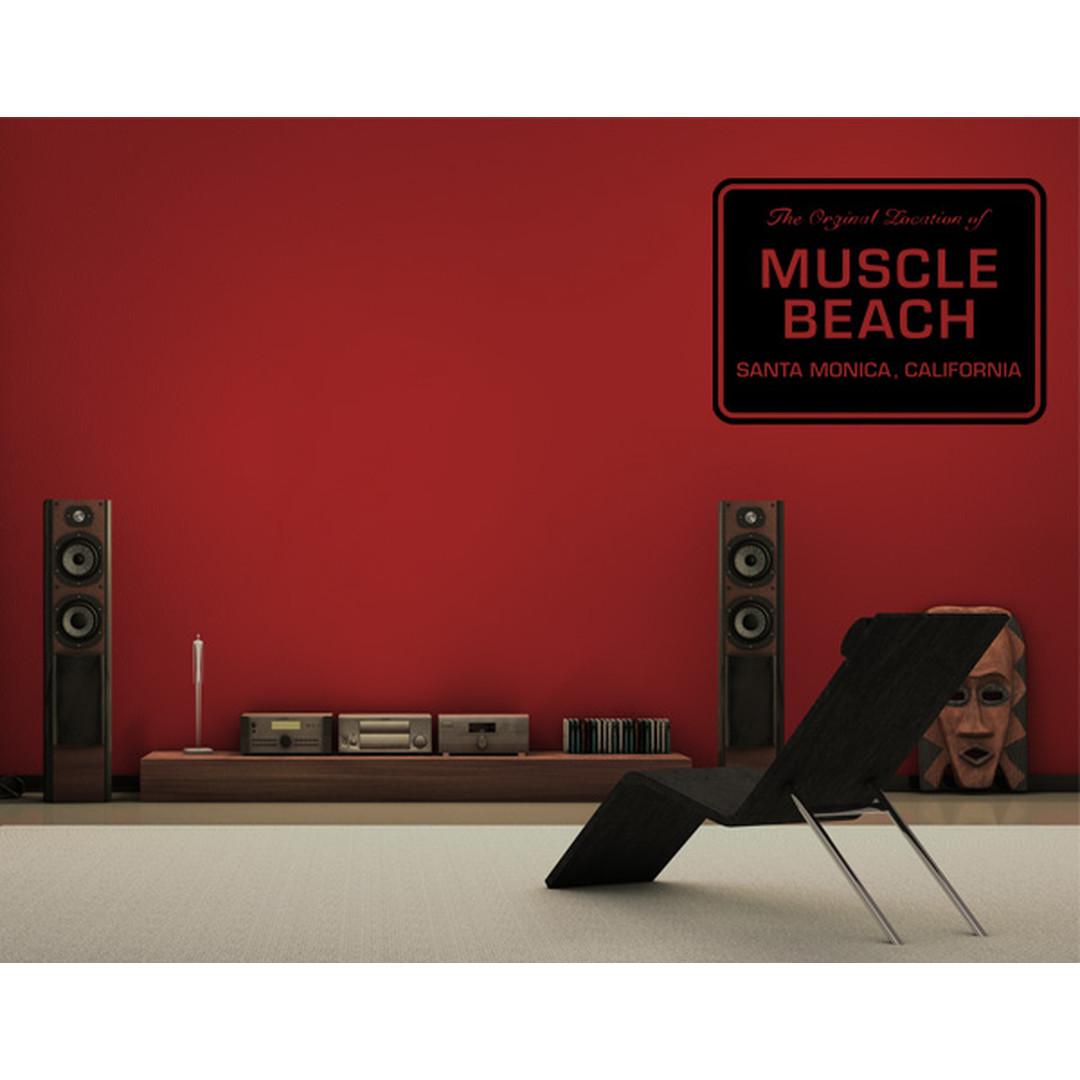 Wandtattoo Muscle Beach St. Monica - TD16133