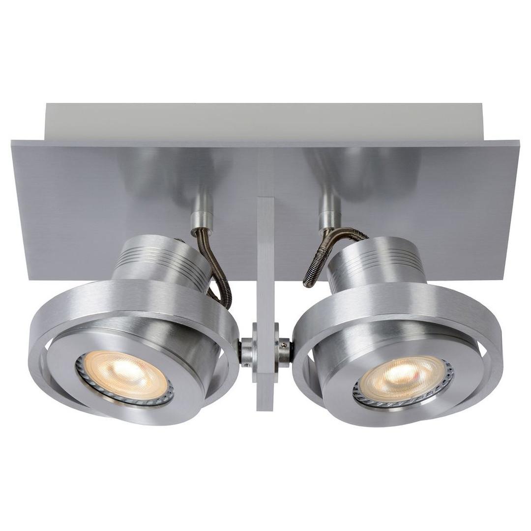 LED Deckenspott Landa 2x5W GU10 in Aluminium 2-flammig - CL120141