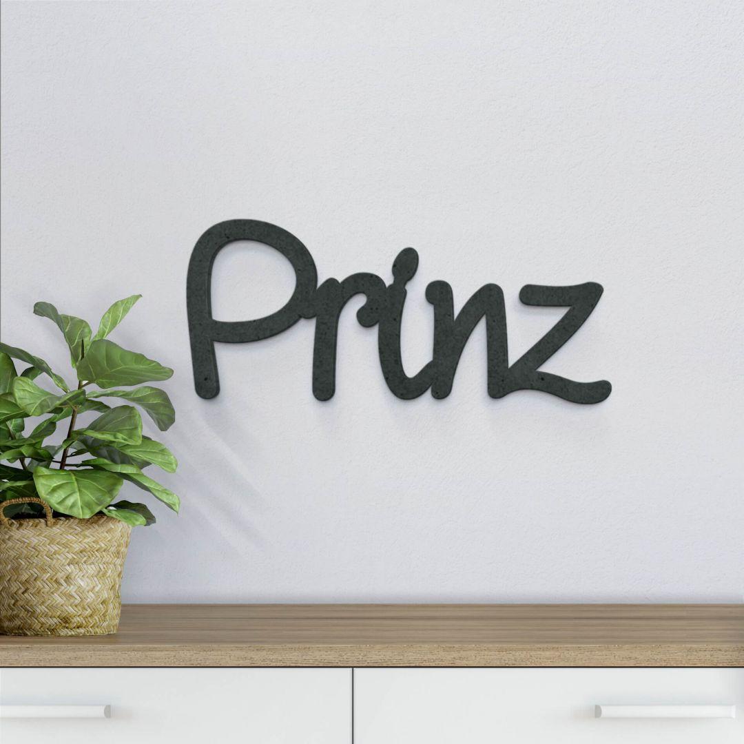 MDF-Holzbuchstaben Prinz - WA255430