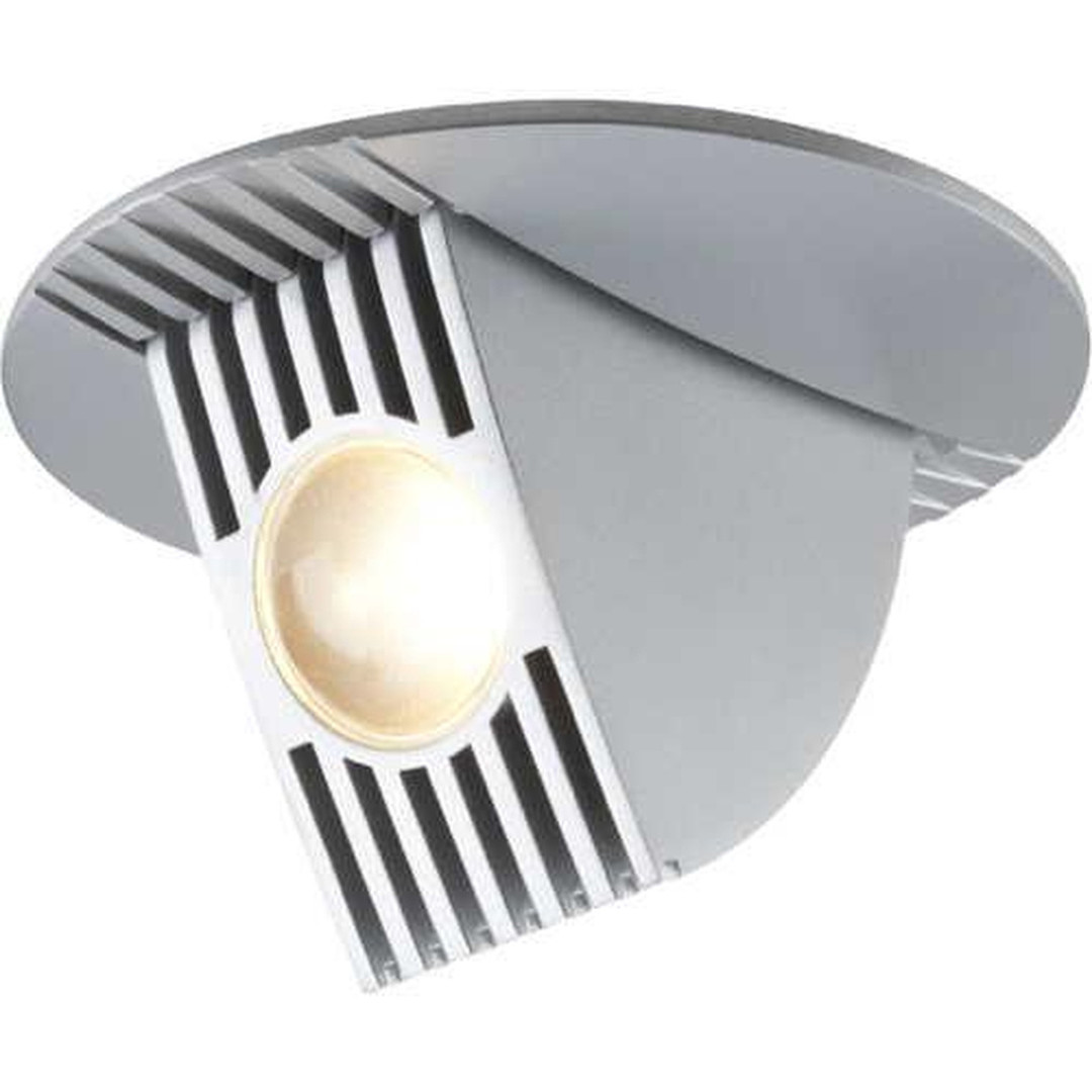 Einbaustrahler Set Bow LED kippbar 65° 1x6.5W 230V/350mA 100mm Chrom matt/Alu - CL101921