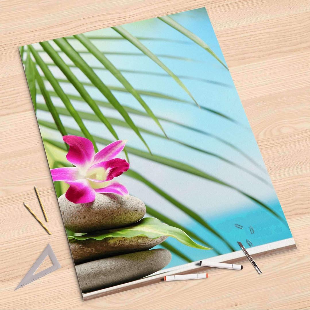 Folienbogen (80x120cm) - Lotus Flower - CR107364