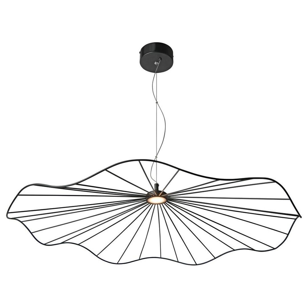 LED Pendelleuchte Mesh in Schwarz 4.5W 405lm 800mm - CL119819