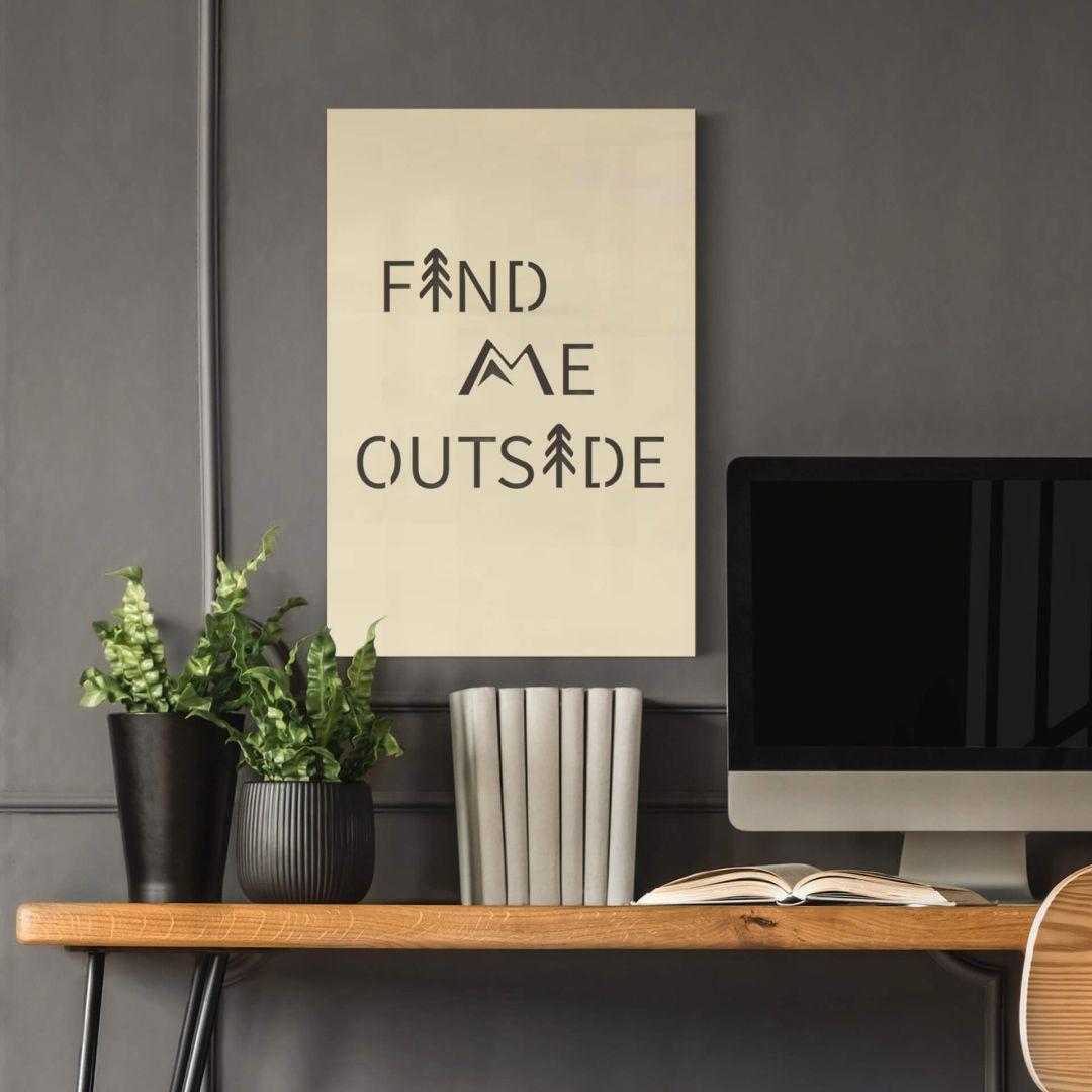 Dekobild Pappel - Find me outside - WA288702
