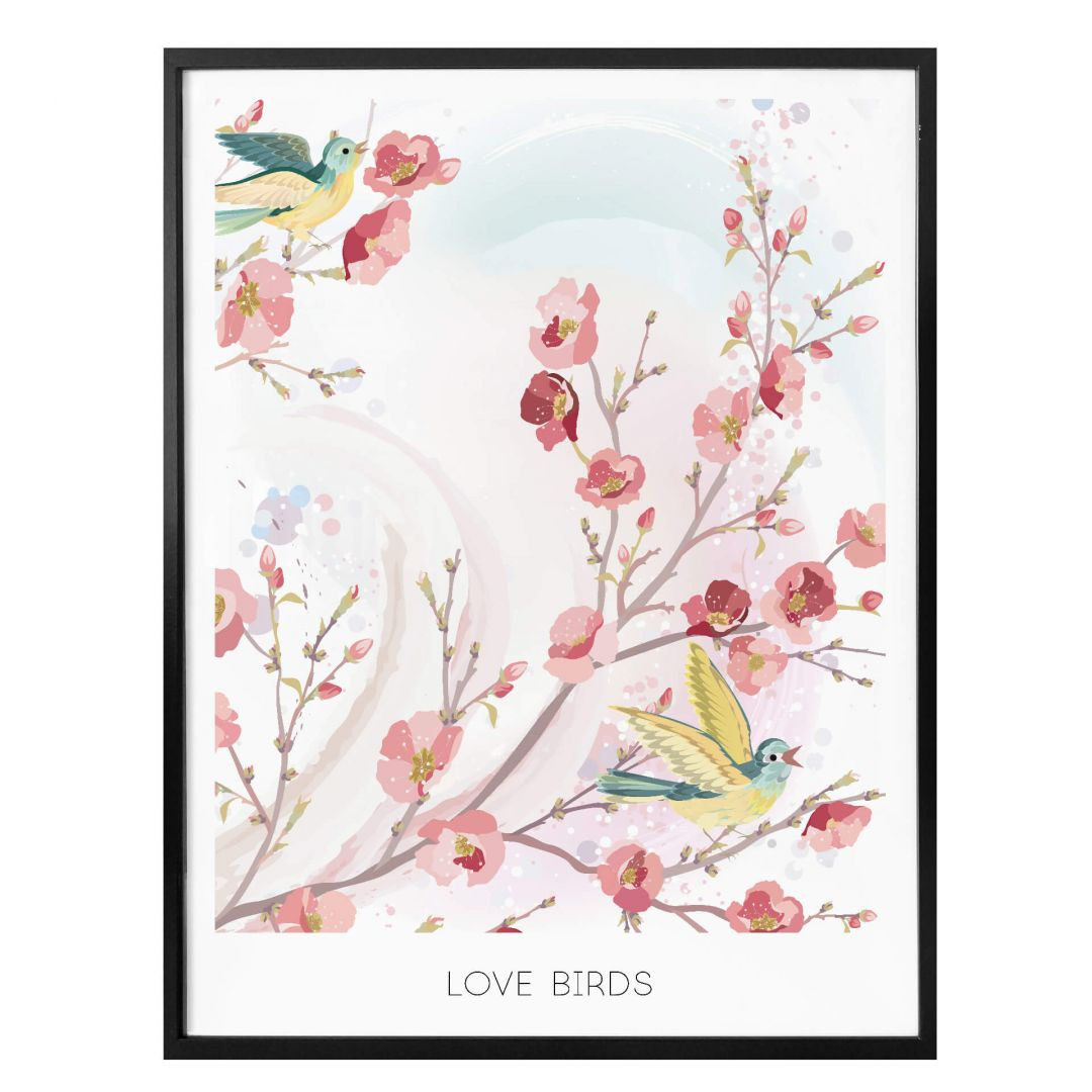 Poster Love Birds - WA258587