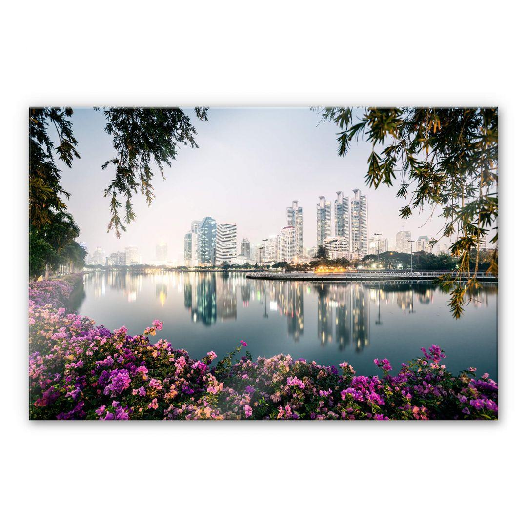 Acrylglasbild Colombo - Bangkok und seine Lichter - WA251578