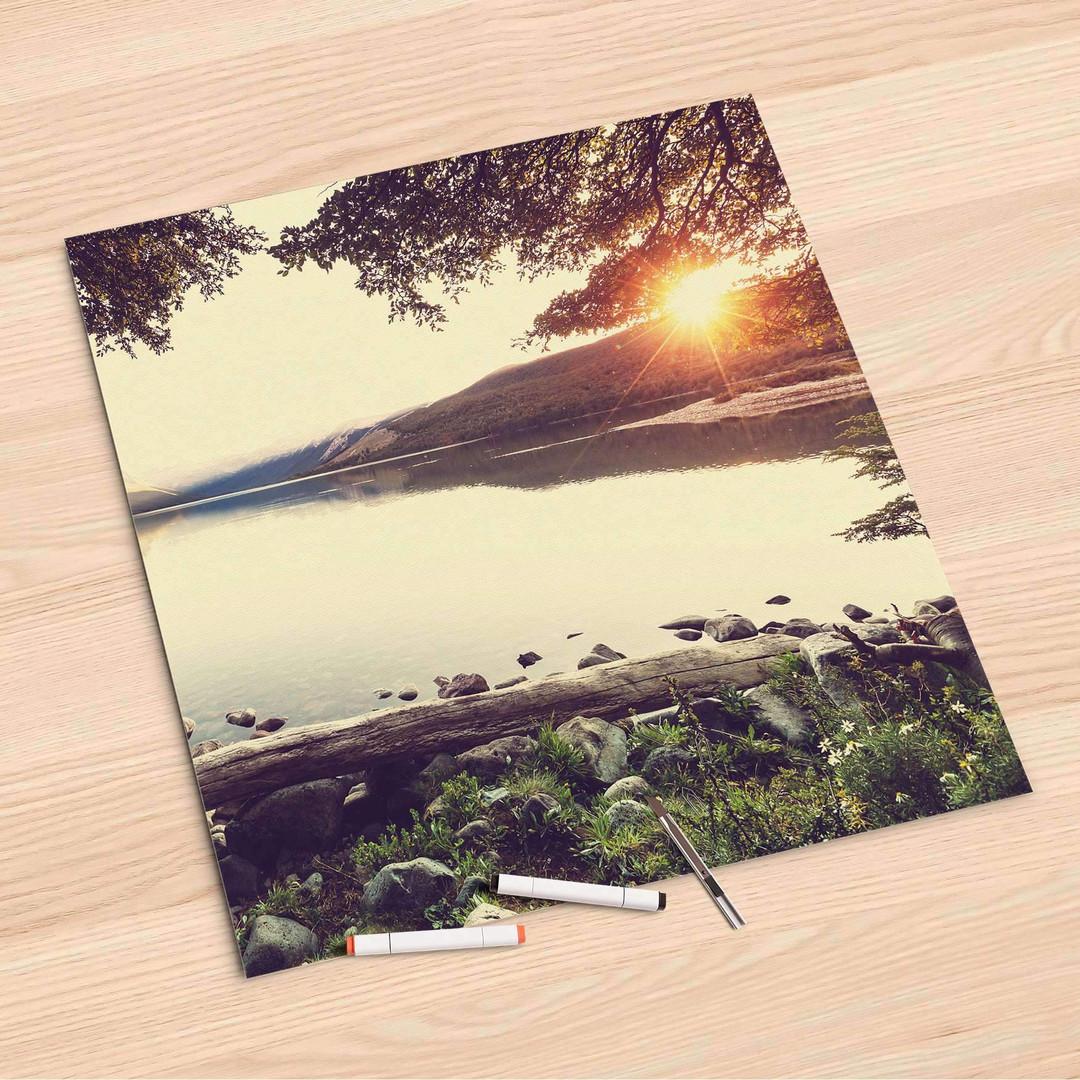 Folienbogen (60x60cm) - Seaside Dreams - CR107183