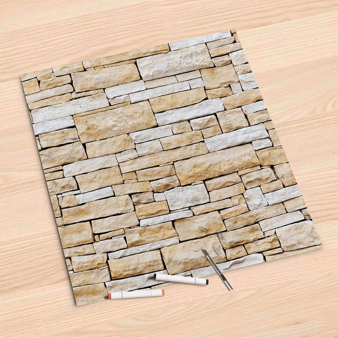 Folienbogen (60x60cm) - Sandstein - CR107177