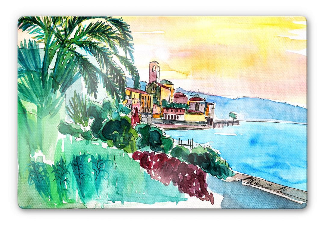 Glasbild Bleichner - Wonderful Lago Maggiore - WA252679