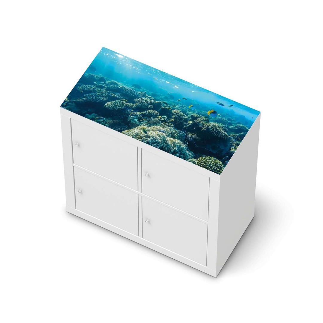 Möbelfolie IKEA Expedit Regal oben - Underwater World - CR114681