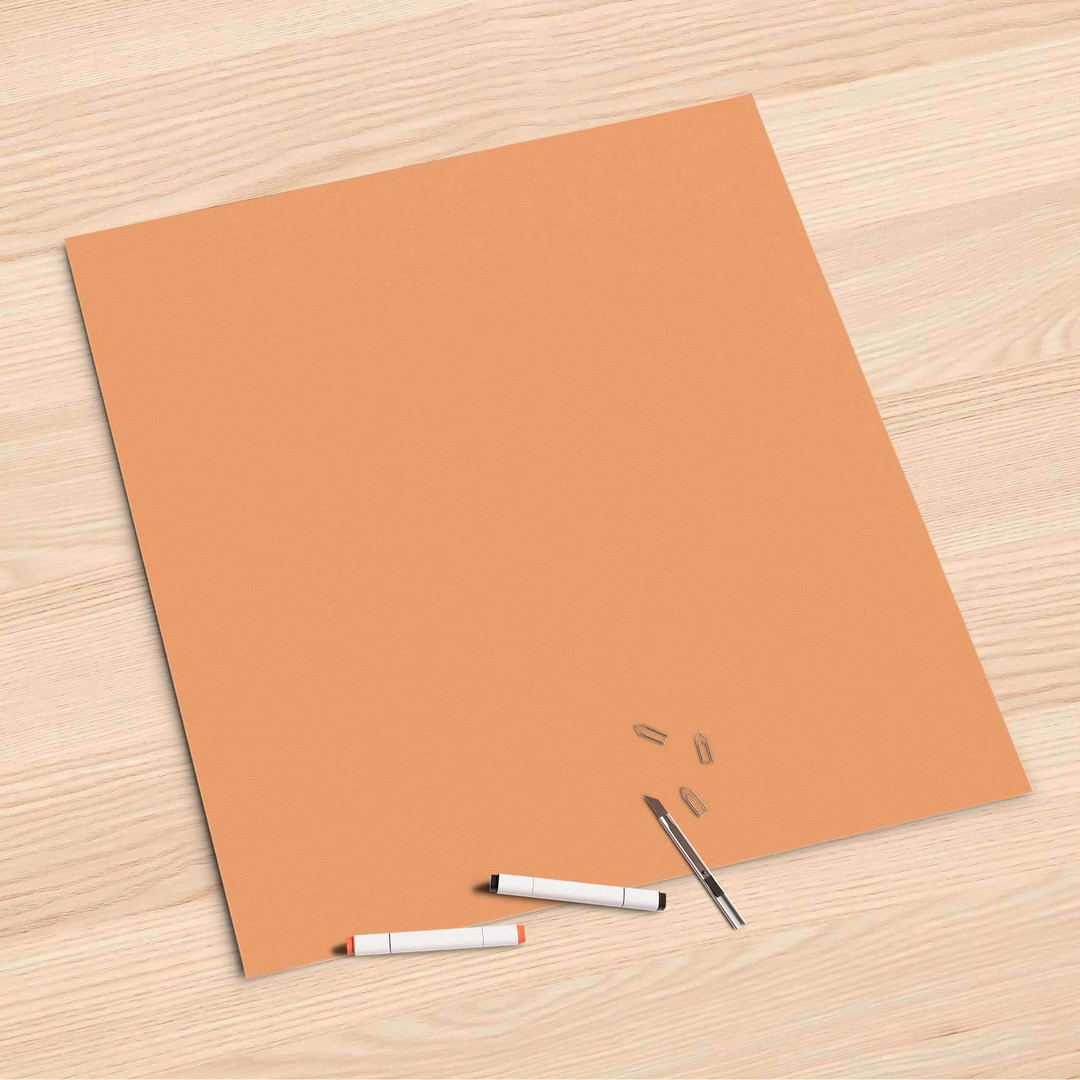 Folienbogen (60x60cm) - Orange Light - CR107142