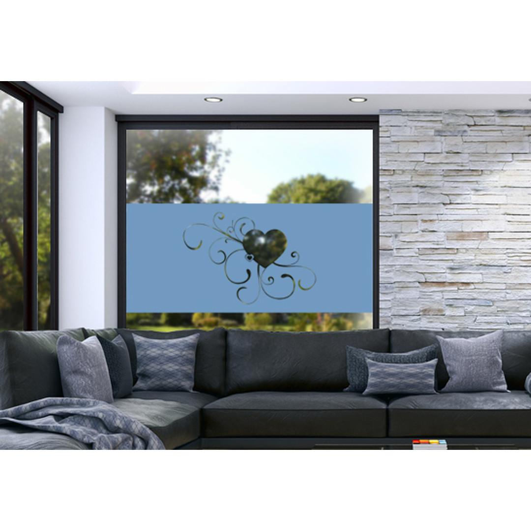 Glasdekor Erblühende Liebe - CG10272