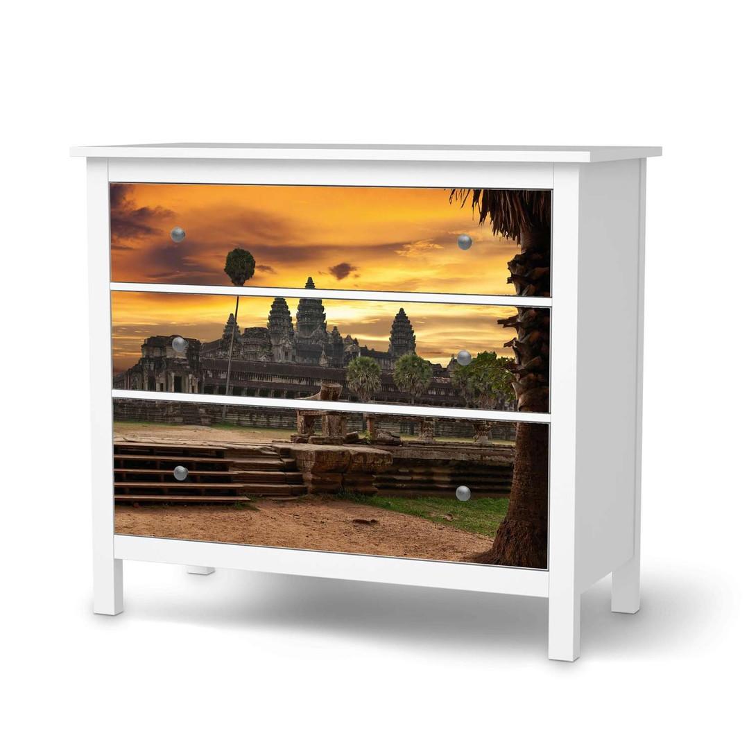 Möbelfolie IKEA Hemnes Kommode 3 Schubladen - Angkor Wat - CR114684