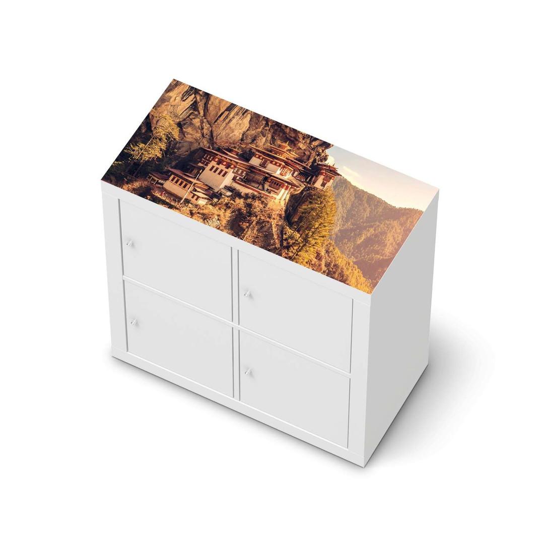 Möbelfolie IKEA Expedit Regal oben - Bhutans Paradise - CR114614