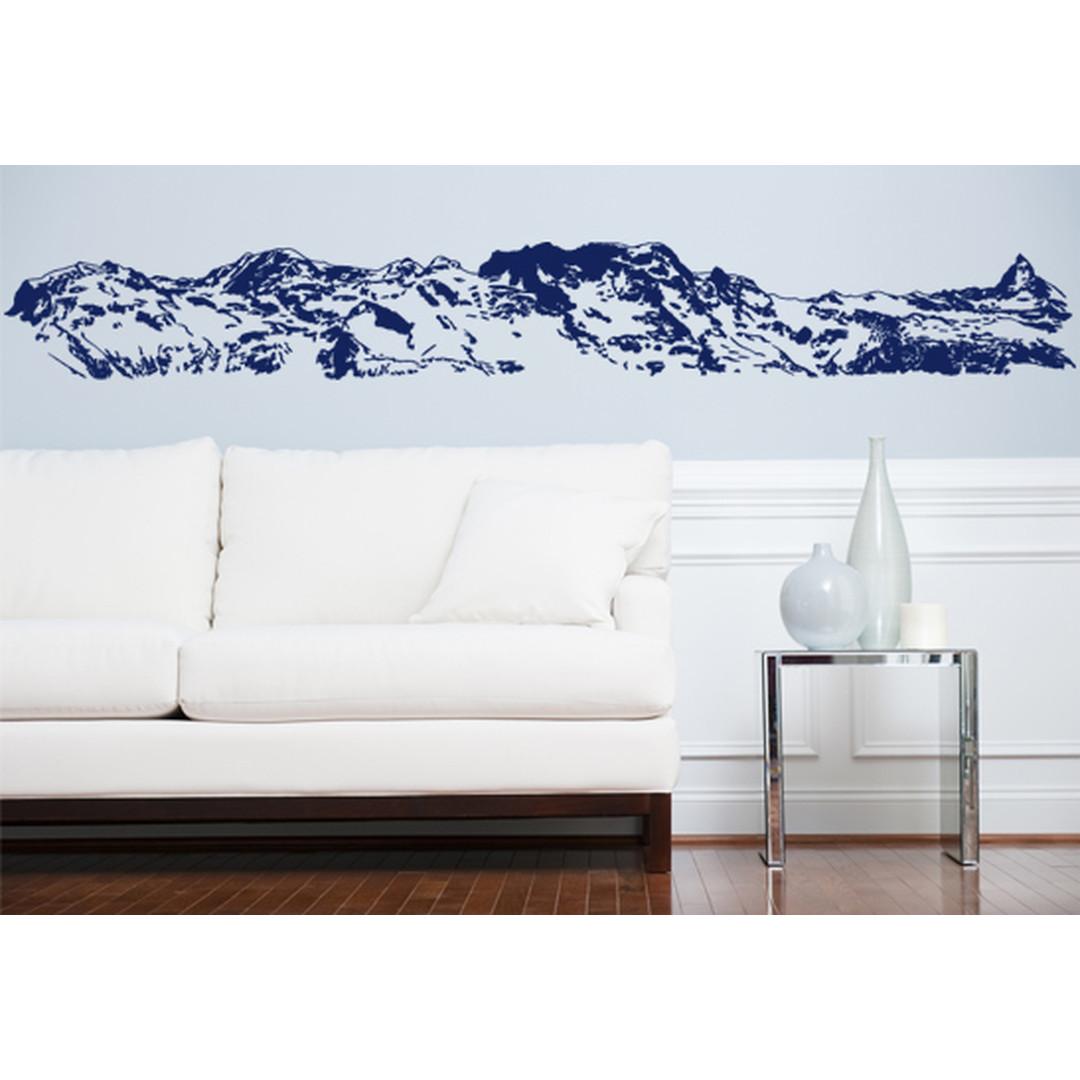 Wandtattoo Berg Monte Rosa Massiv - CG10030