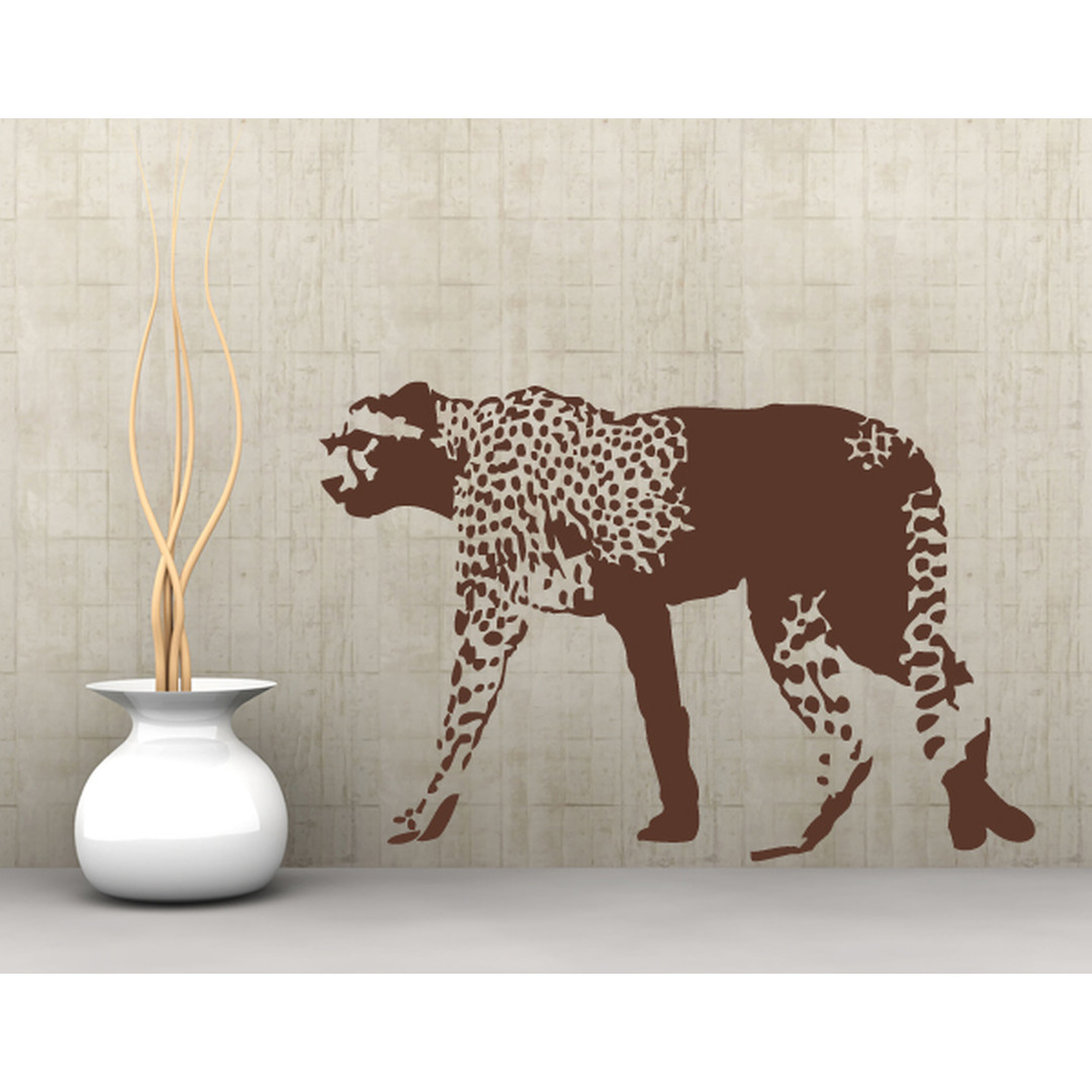 Wandtattoo Gepard - TD16235