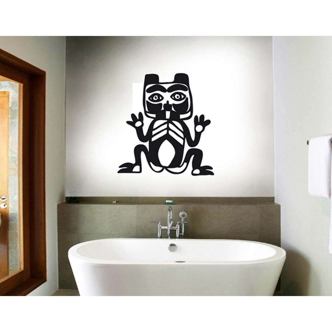 Wandtattoo Primitive Art Katze - TD16937