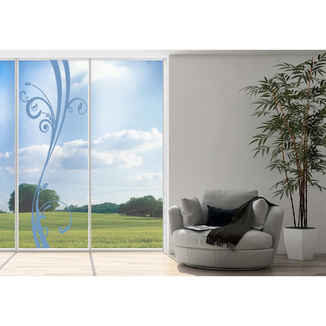 Glasdekor Floraler Schwung - CG10230