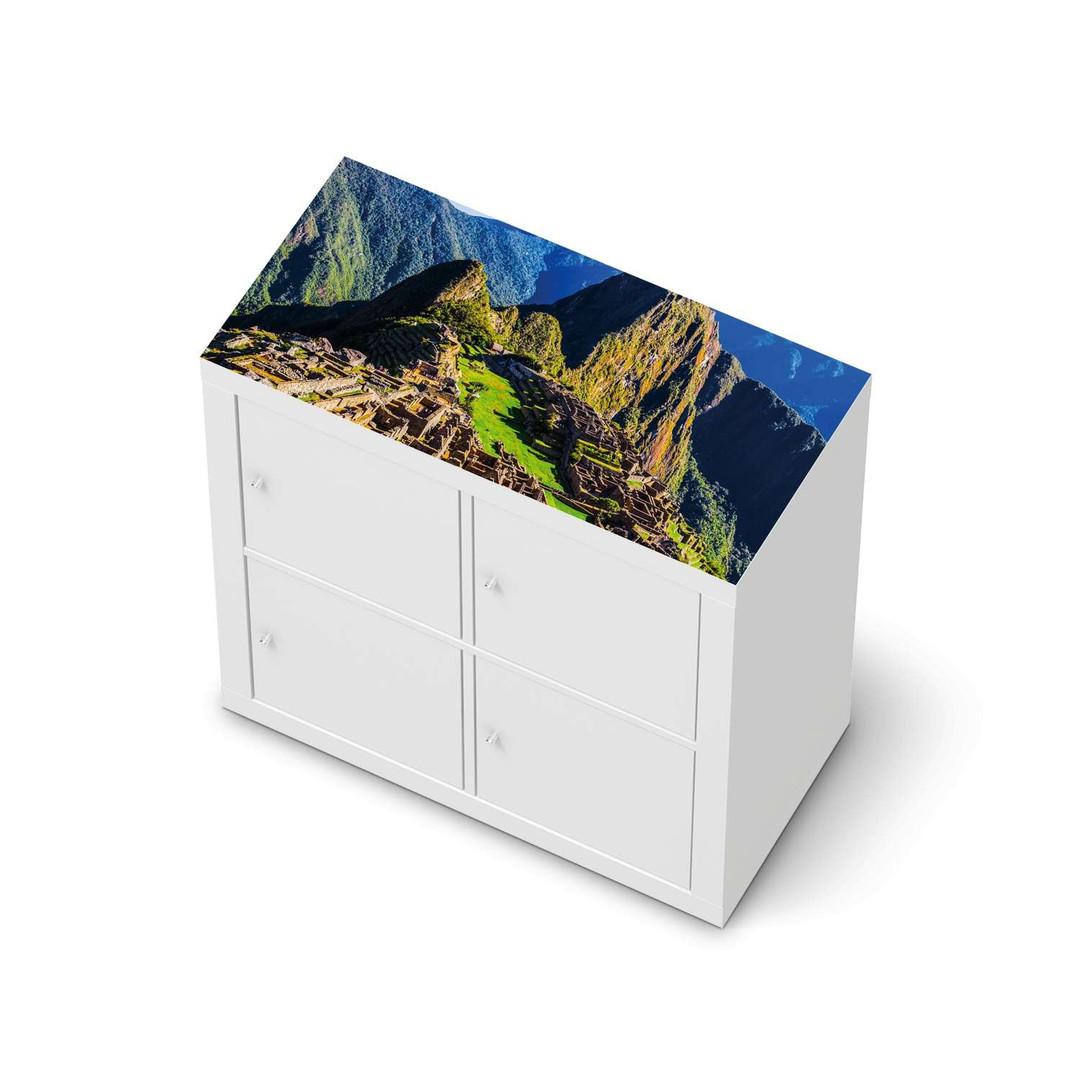 Möbelfolie IKEA Expedit Regal oben - Machu Picchu - CR114647