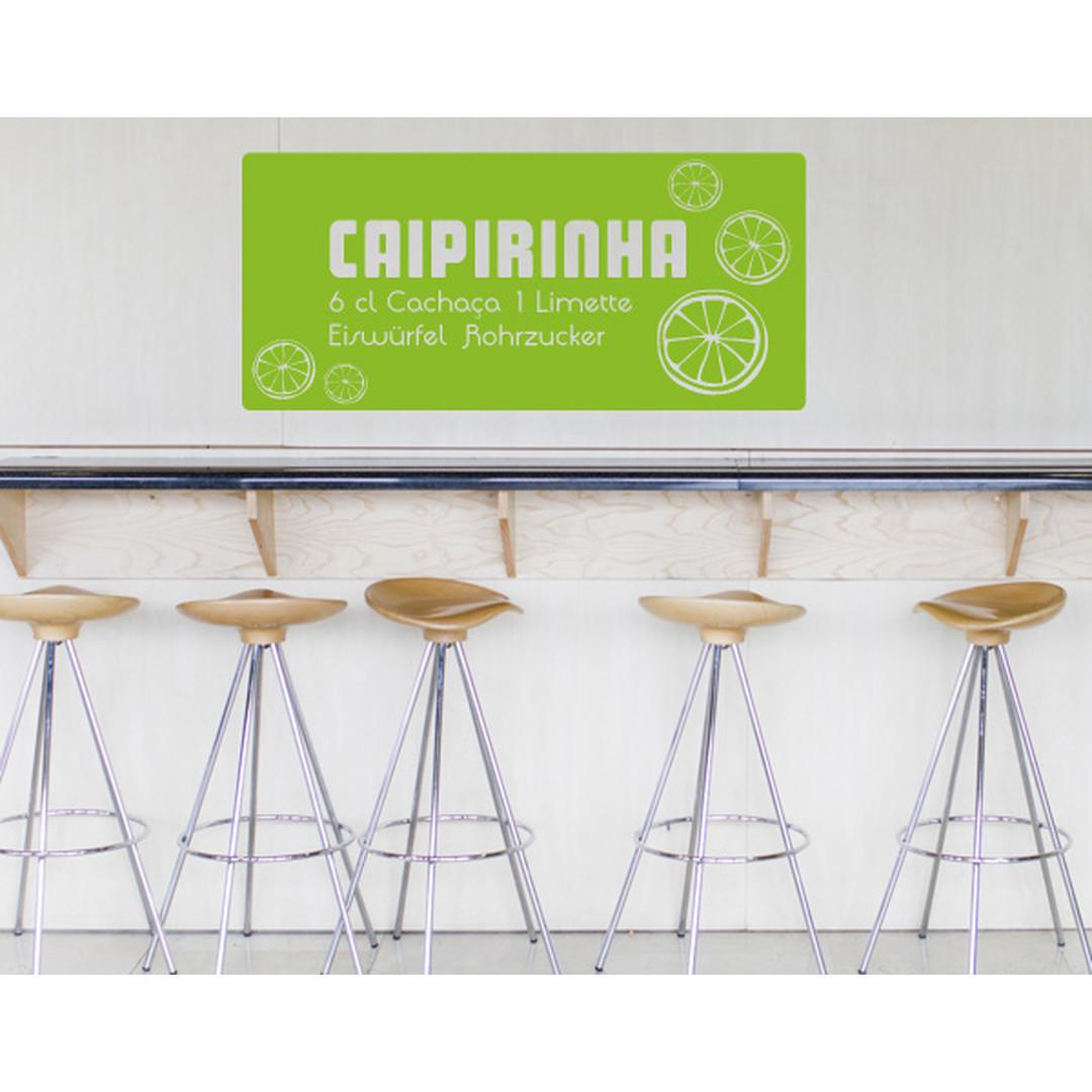 Wandtattoo Caipirinha - TD16052