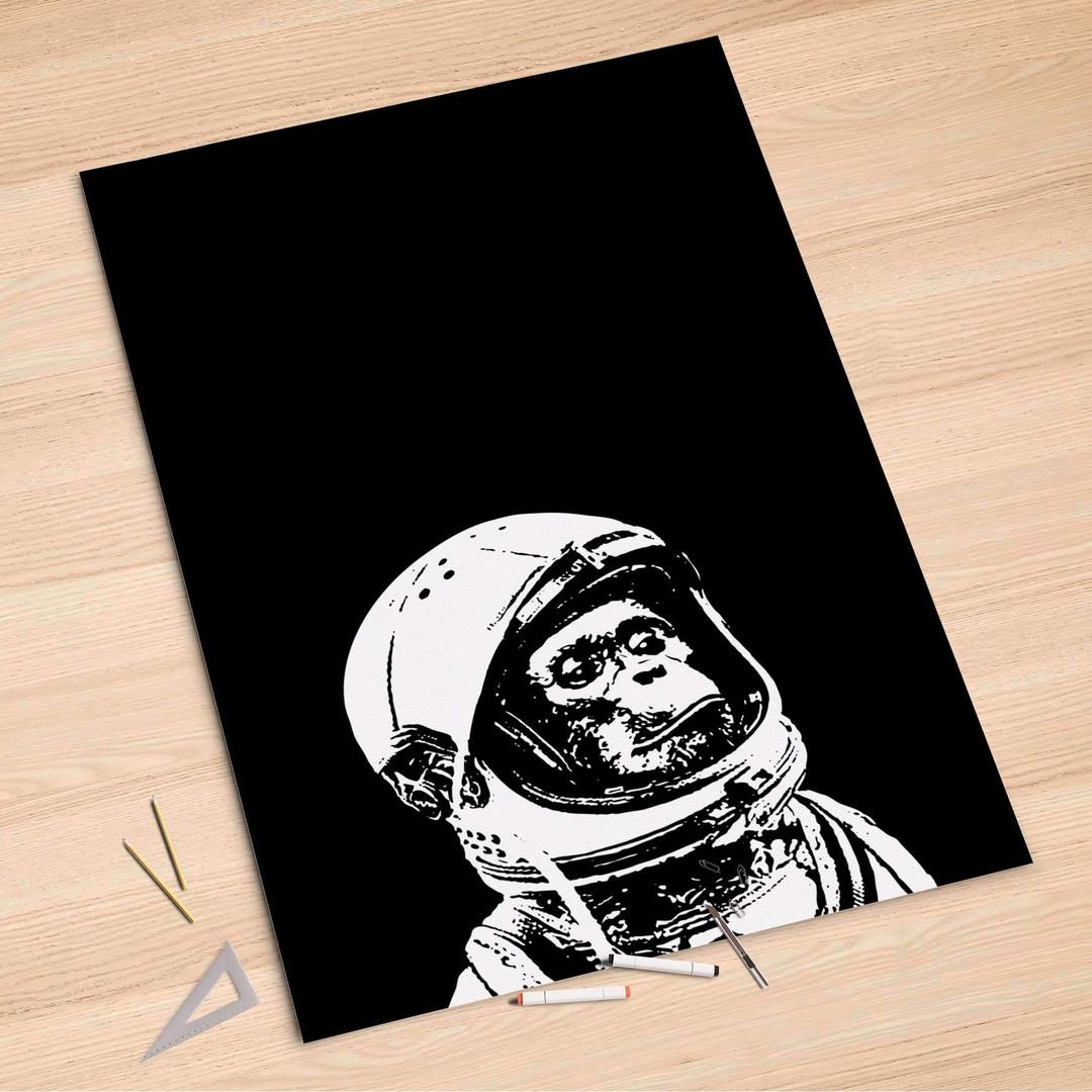 Folienbogen (100x150cm) - Ape in Space - CR106108