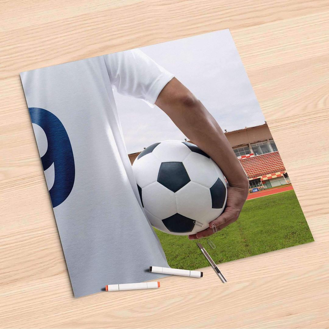 Folienbogen (60x60cm) - Footballmania - CR107079