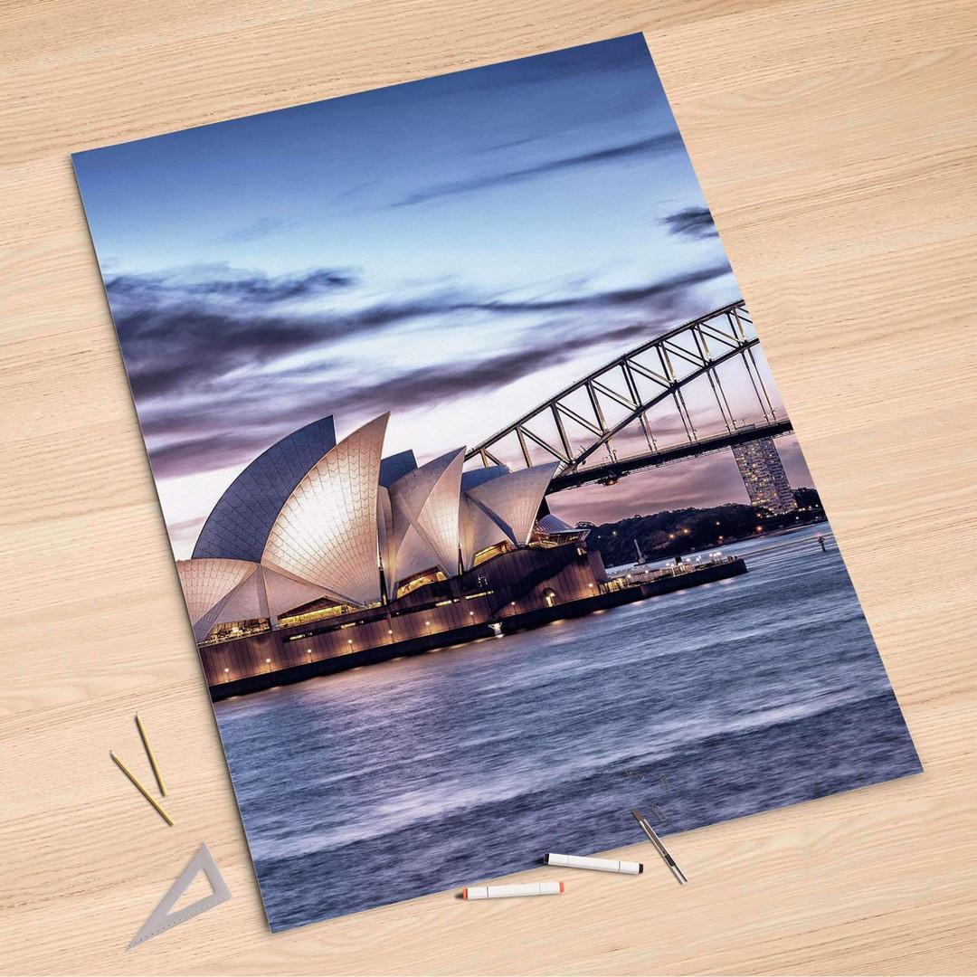 Folienbogen (100x150cm) - Sydney - CR106283