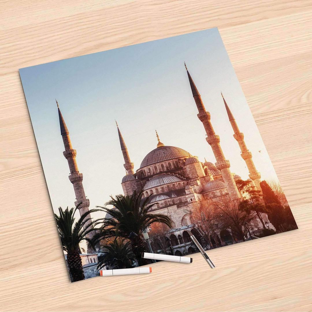 Folienbogen (60x60cm) - Blue Mosque - CR107030