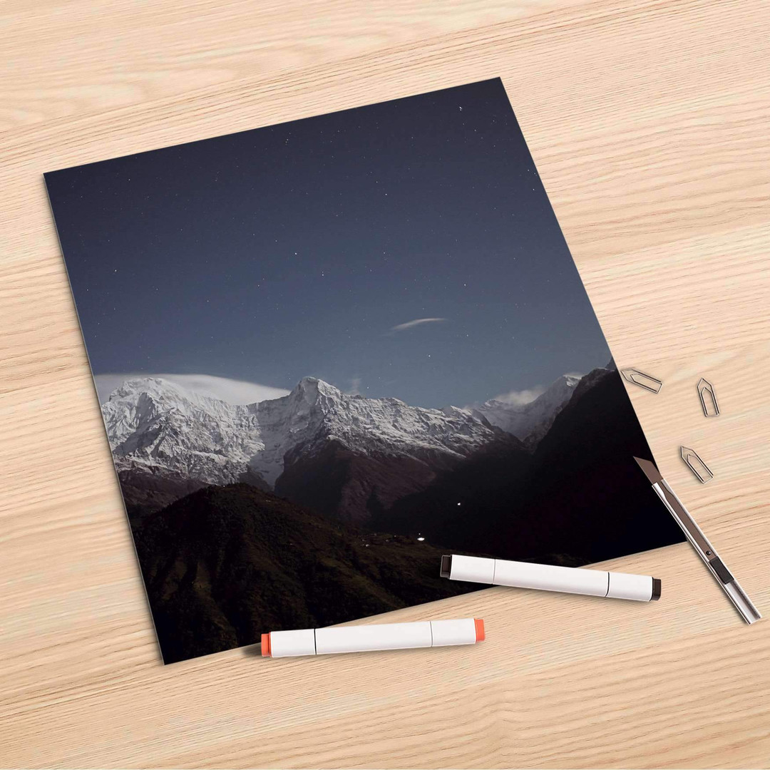 Folienbogen (30x30cm) - Mountain Sky - CR106884