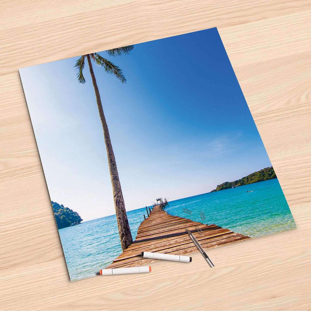 Folienbogen (60x60cm) - Caribbean - CR107041