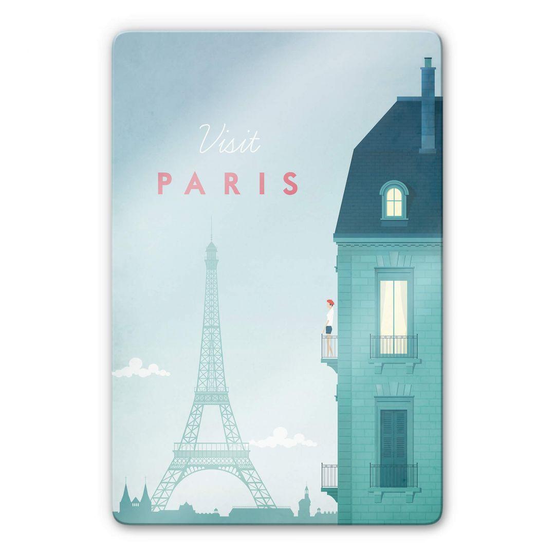 Glasbild Rivers - Paris - WA252983