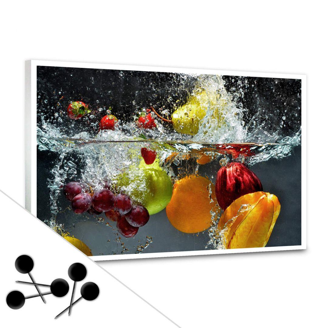 Pinnwand Erfrischendes Obst inkl. 5 Pinnadeln - WA256621