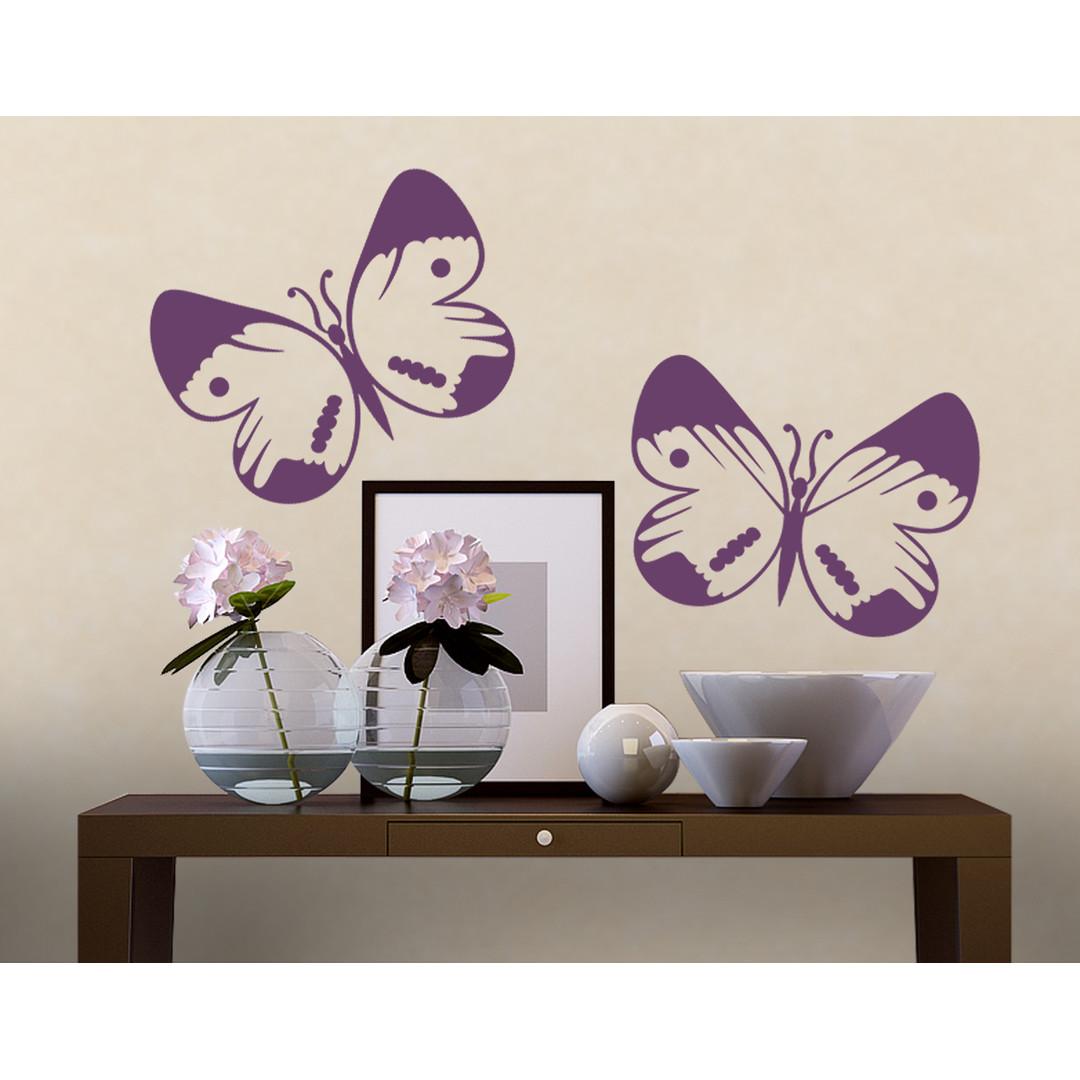 Wandtattoo Schmetterlingsduo - CG10146