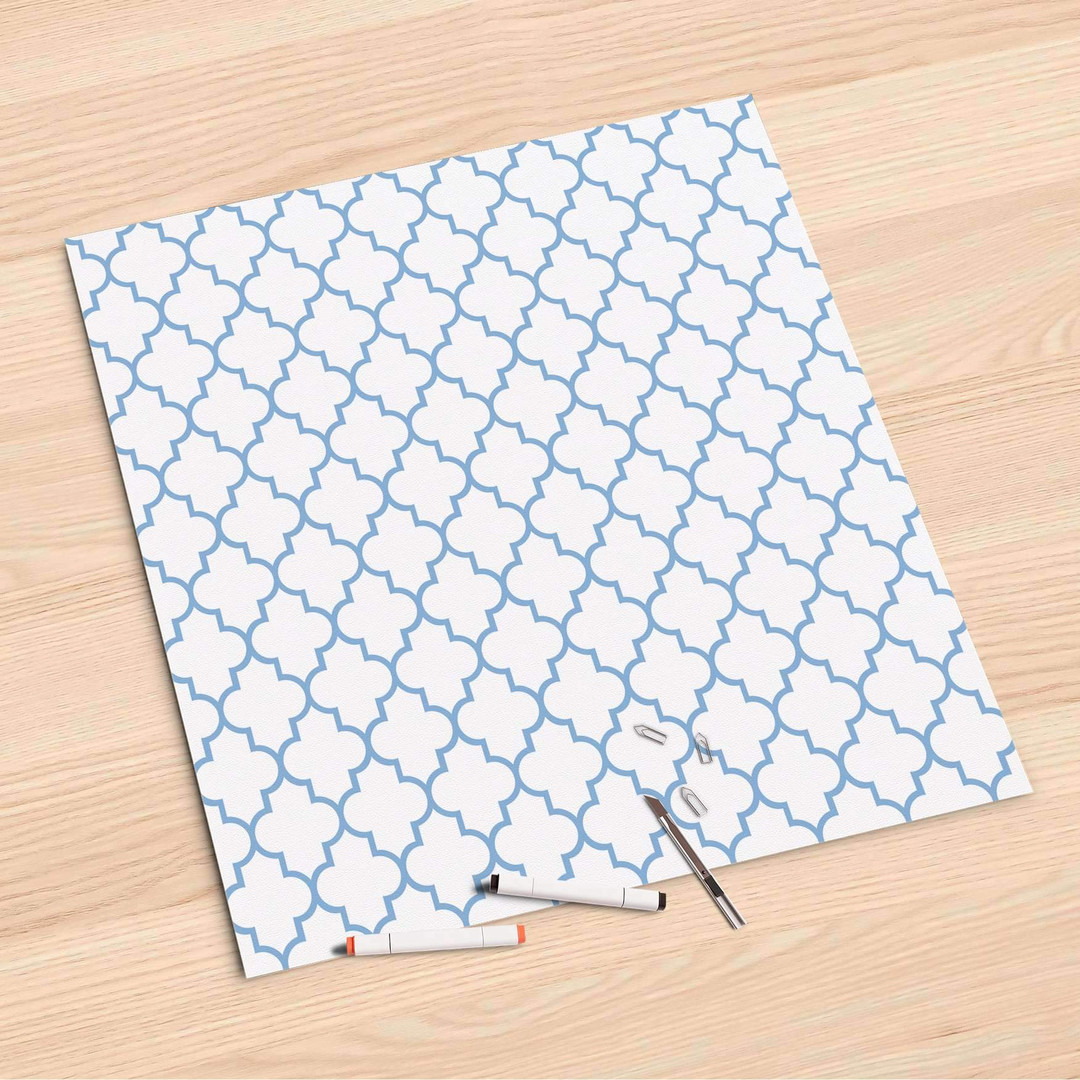 Folienbogen (60x60cm) - Retro Pattern - Blau - CR107170
