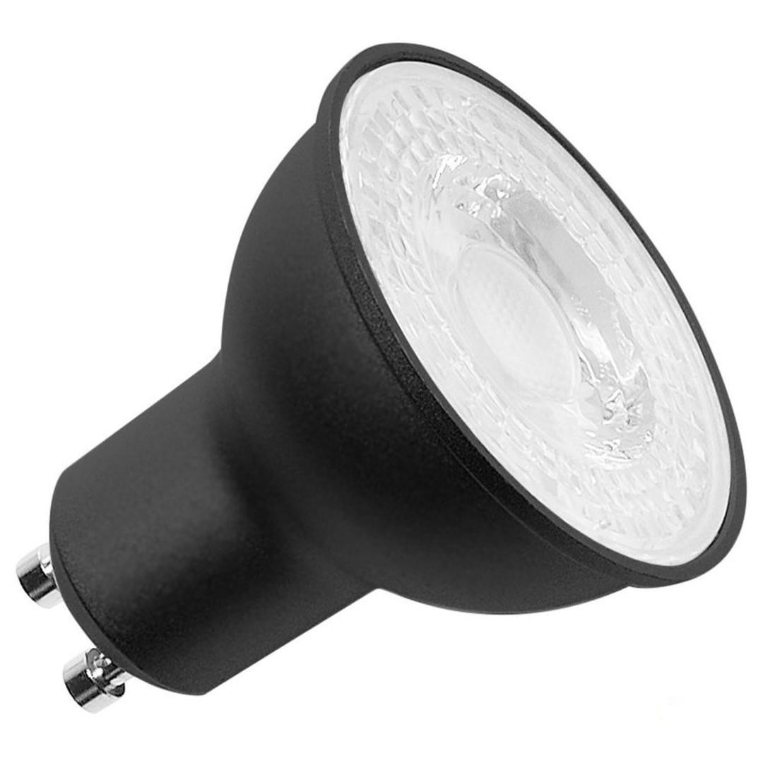 LED Leuchtmittel PAR16 GU10 7.2W 4000K in in Schwarz - CL120554