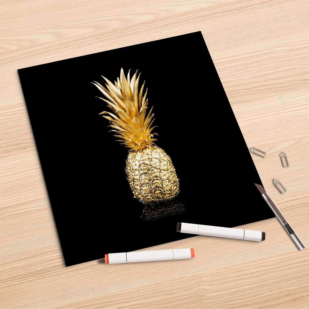 Folienbogen (30x30cm) - Goldenes Früchtchen - CR106838