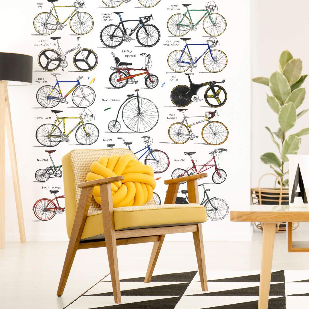 Fototapete Sparshott - Fahrräder - 192x260cm - WA271345